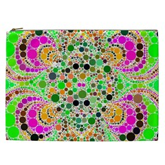 Florescent Abstract  Cosmetic Bag (xxl)