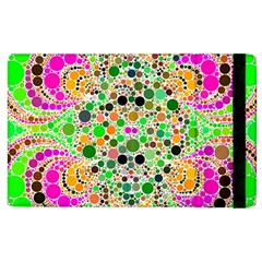Florescent Abstract  Apple Ipad 2 Flip Case