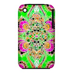 Florescent Abstract  Apple iPhone 3G/3GS Hardshell Case (PC+Silicone)