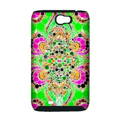 Florescent Abstract  Samsung Galaxy Note 2 Hardshell Case (PC+Silicone)