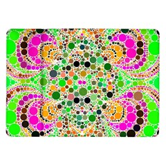 Florescent Abstract  Samsung Galaxy Tab 10.1  P7500 Flip Case