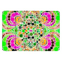 Florescent Abstract  Samsung Galaxy Tab 8 9  P7300 Flip Case