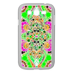 Florescent Abstract  Samsung Galaxy Grand DUOS I9082 Case (White)