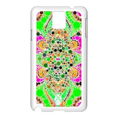 Florescent Abstract  Samsung Galaxy Note 3 N9005 Case (White)