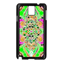 Florescent Abstract  Samsung Galaxy Note 3 N9005 Case (Black)
