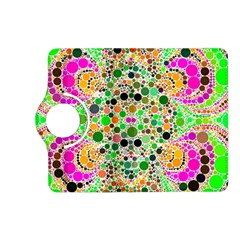Florescent Abstract  Kindle Fire HD (2013) Flip 360 Case