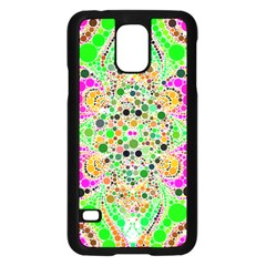 Florescent Abstract  Samsung Galaxy S5 Case (Black)