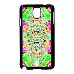 Florescent Abstract  Samsung Galaxy Note 3 Neo Hardshell Case (Black)