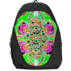 Florescent Abstract  Backpack Bag