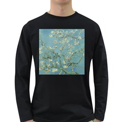 Vincent Van Gogh, Almond Blossom Men s Long Sleeve T-shirt (Dark Colored)