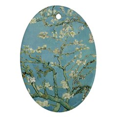 Vincent Van Gogh, Almond Blossom Oval Ornament