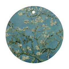 Vincent Van Gogh, Almond Blossom Round Ornament (two Sides)
