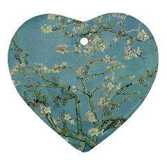 Vincent Van Gogh, Almond Blossom Heart Ornament (two Sides)