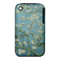 Vincent Van Gogh, Almond Blossom Apple iPhone 3G/3GS Hardshell Case (PC+Silicone)