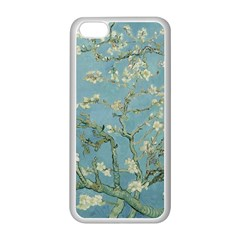 Vincent Van Gogh, Almond Blossom Apple iPhone 5C Seamless Case (White)