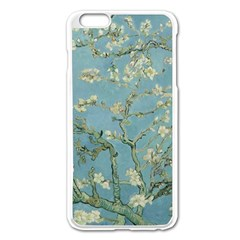 Vincent Van Gogh, Almond Blossom Apple iPhone 6 Plus Enamel White Case