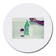 Dirty $prite 8  Mouse Pad (round)