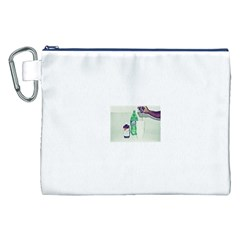 Dirty $prite Canvas Cosmetic Bag (XXL)