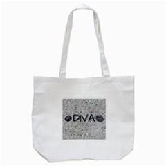 Sassy Diva  Tote Bag (White)
