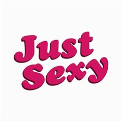 Just Sexy Typographic Quote002 Canvas 12  X 18  (unframed)