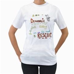 D0gaholic Women s T-Shirt (White)
