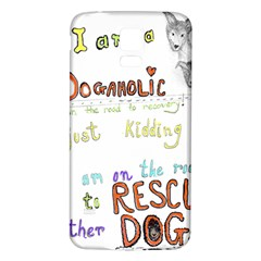 D0gaholic Samsung Galaxy S5 Back Case (white)