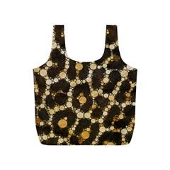 Cheetah Abstract  Reusable Bag (S)