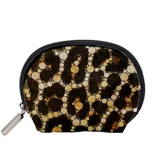 Cheetah Abstract  Accessory Pouch (Small)