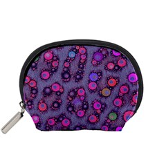 Florescent Cheetah Accessory Pouch (Small)