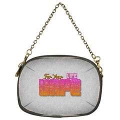 Vape For Your Life Abstract  Chain Purse (one Side)