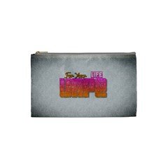 Vape For Your Life Abstract  Cosmetic Bag (small)