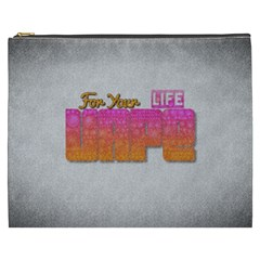 Vape For Your Life Abstract  Cosmetic Bag (xxxl)