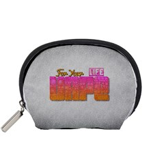 Vape For Your Life Abstract  Accessory Pouch (Small)