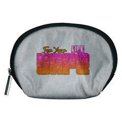 Vape For Your Life Abstract  Accessory Pouch (medium)