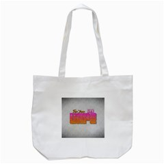 Vape For Your Life Abstract  Tote Bag (White)