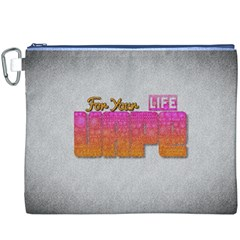 Vape For Your Life Abstract  Canvas Cosmetic Bag (XXXL)