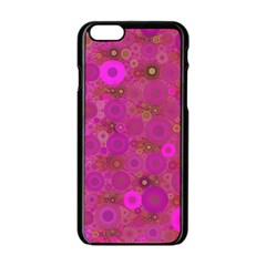 Pinka Dots  Apple iPhone 6 Black Enamel Case