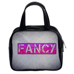 Fancy Abstract  Classic Handbag (two Sides)