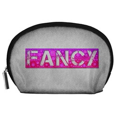 Fancy Abstract  Accessory Pouch (Large)