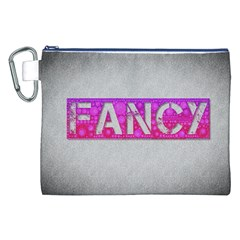 Fancy Abstract  Canvas Cosmetic Bag (XXL)