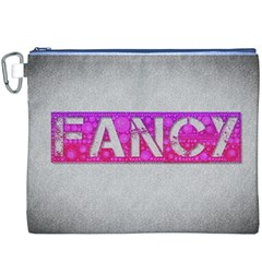 Fancy Abstract  Canvas Cosmetic Bag (XXXL)