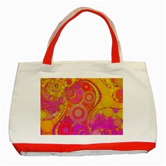 Super Bright Abstract Classic Tote Bag (Red)
