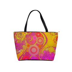 Super Bright Abstract Large Shoulder Bag