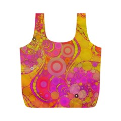 Super Bright Abstract Reusable Bag (M)