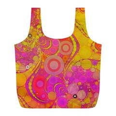 Super Bright Abstract Reusable Bag (L)