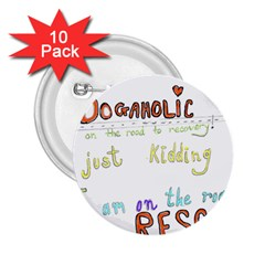 D0gaholic 2 25  Button (10 Pack)