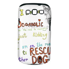 D0gaholic Samsung Galaxy S Iii Classic Hardshell Case (pc+silicone)