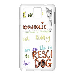 D0gaholic Samsung Galaxy Note 3 N9005 Case (white)
