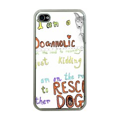 D0gaholic Apple Iphone 4 Case (clear)