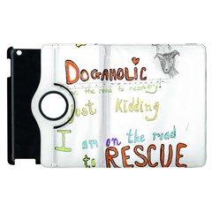 D0gaholic Apple iPad 3/4 Flip 360 Case